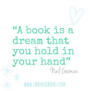 Neil Gaiman quote. www.zwanniebooks.com