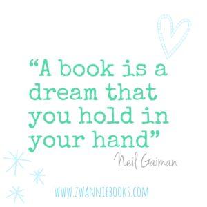 Neil Gaiman quote. www.zwanniebooks.com