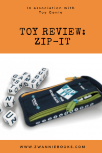 Toy review zip-it www.zwanniebooks.com