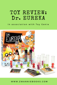 dr. eureka toy review www.zwanniebooks.com