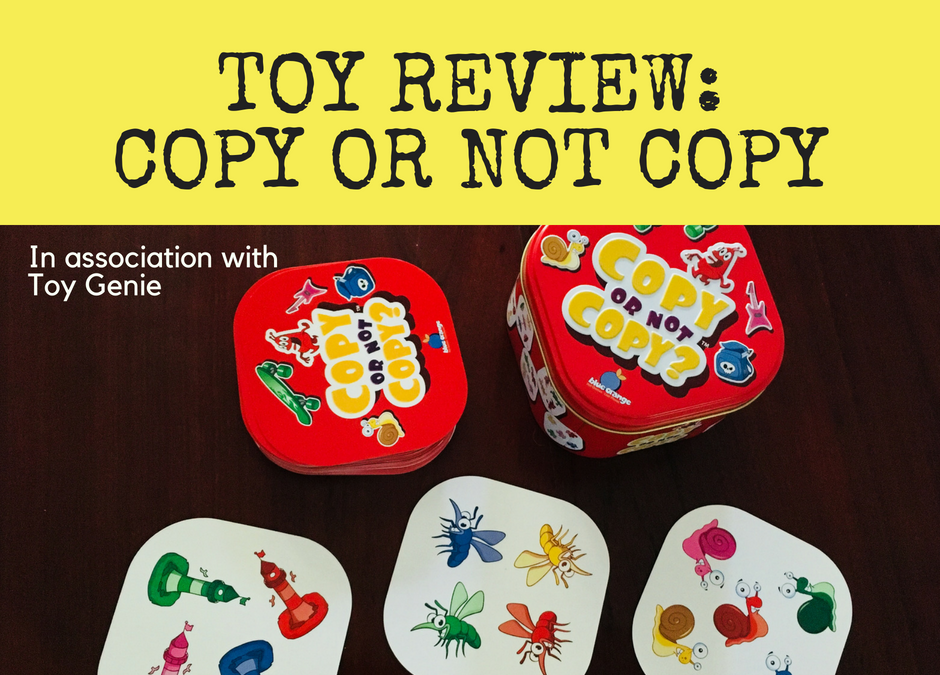 Toy review: Copy Or Not Copy