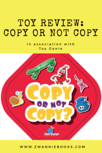 toy review, copy or not copy. www.zwanniebooks.com