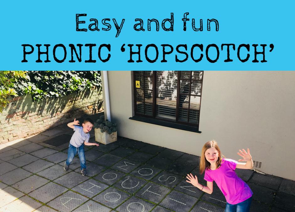 Phonic 'hopscotch'