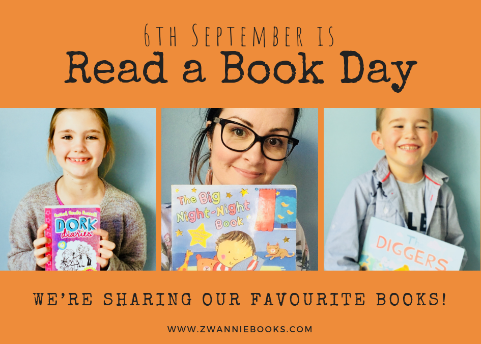 In celebration of 'Read a Book Day'…