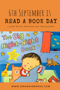 In celebration of Read a Book Day on 6th September. www.zwanniebooks.com