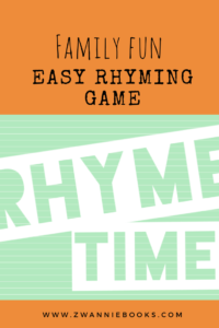 Easy rhyming fun for everyone