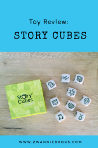 toy review Story Cubes