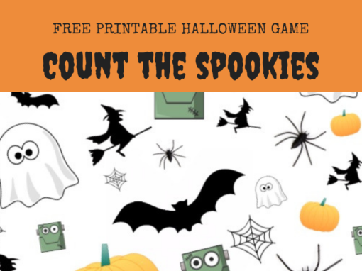 halloween game 'count the spookies'. a little bit of halloween freebie fun for the kids